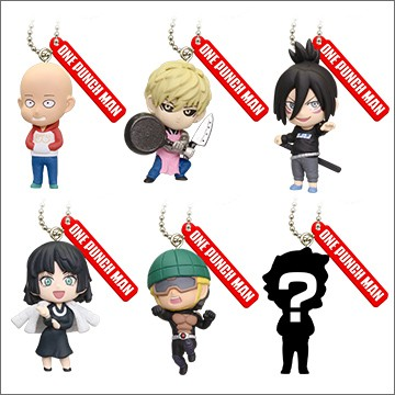 One Punch Man Gashapons 6er Set