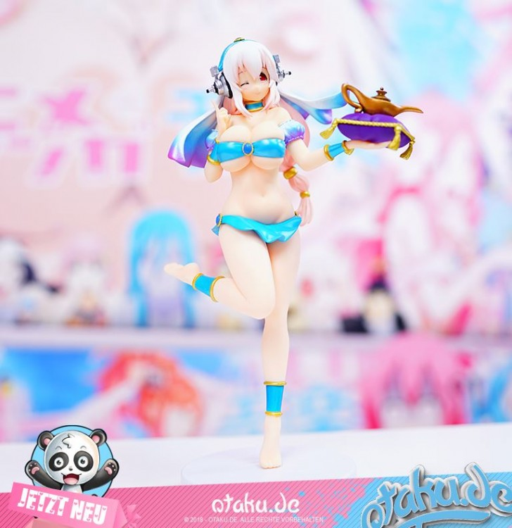 "Super Sonico ""Genie of the Lamp"" Figur"