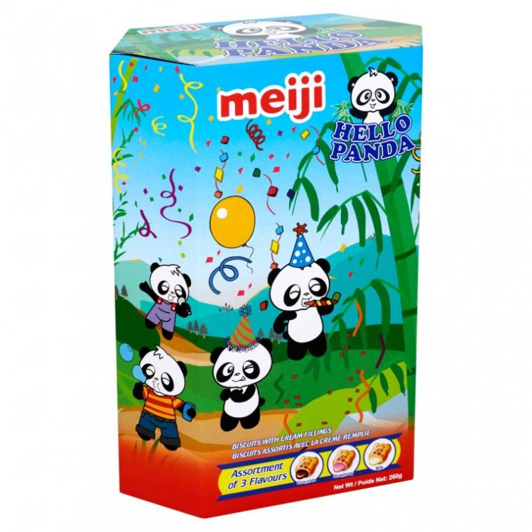 Hello Panda Assorted Biscuit (10x26g Packets)