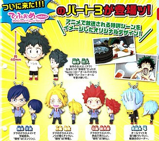 "My Hero Academia ""Gashapon Set"" Part 3"