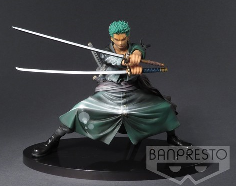 "One Piece ""Shining Color Edittion"" Zorro ca. 16cm"