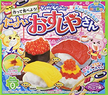 "Popin Cookin ""Sushi"" Selfmade Candy ca. 70g"