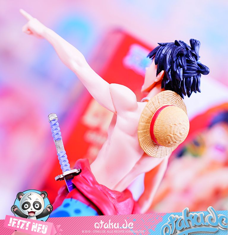 One Piece Ruffy Figur Banpresto