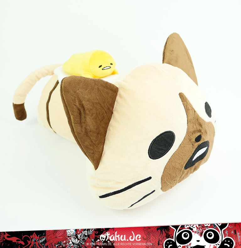Monster Hunter / Sanrio - Feline + Gudetama - Plüsch liegend