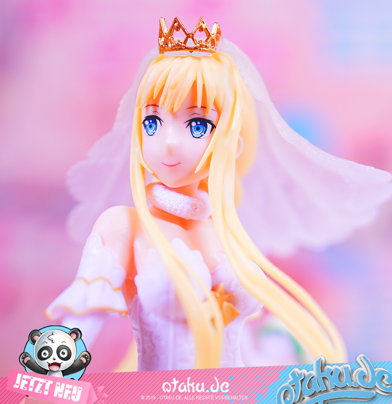 Sword art Online - EXQ Figure - Wedding - Alice- ca- 20cm