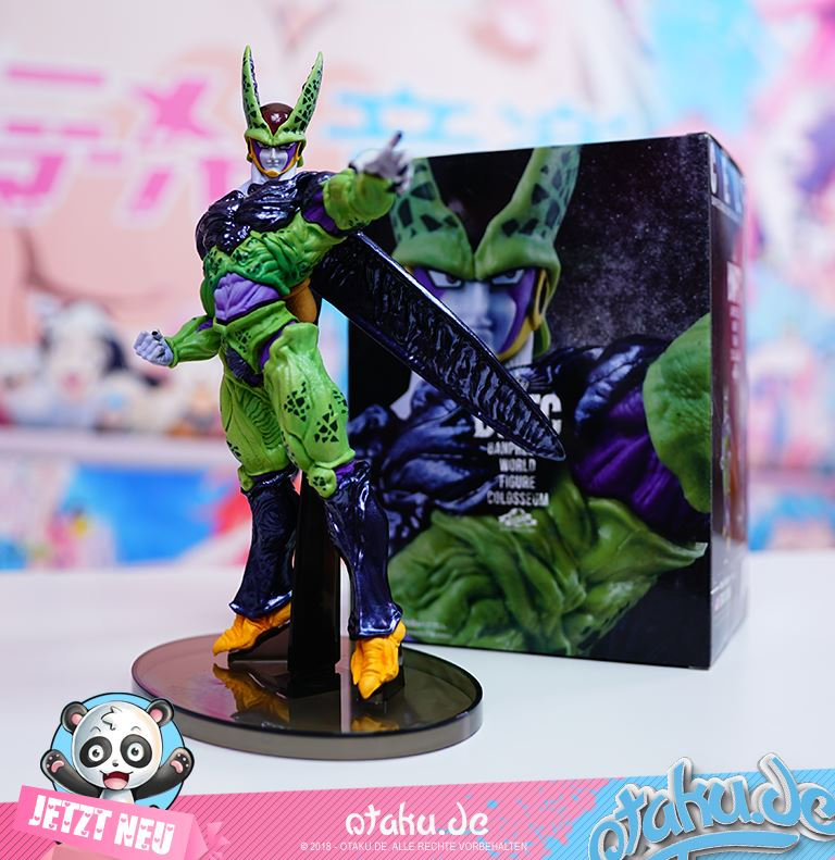 "Dragon Ball Z ""Perfect Cell"" World Figure Colosseum Figur"