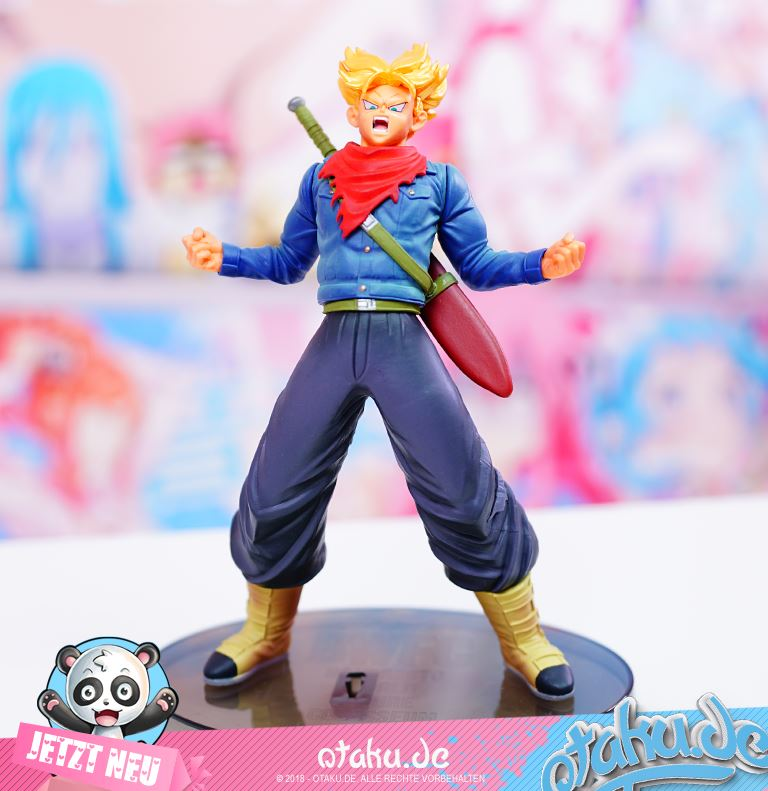 "Dragon Ball ""Future Trunks SSJ"" World Figure Colosseum Figur"