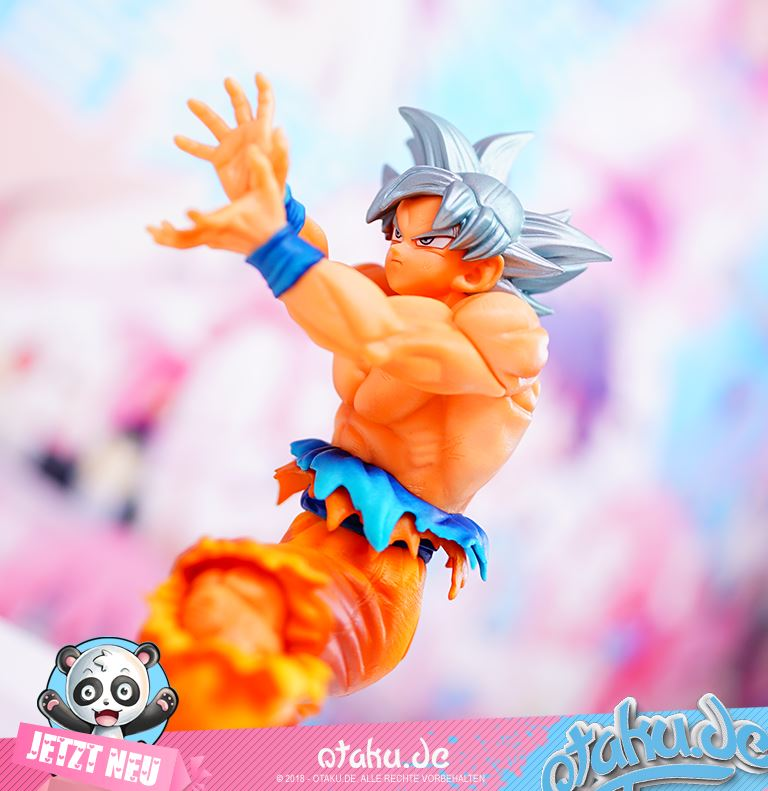 "Dragon Ball Super ""Son Goku"" Super Warriors Ultra Instinct Figur"