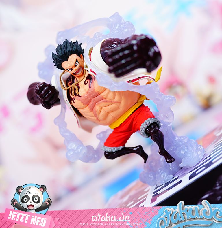 "One Piece ""Monkey D. Luffy"" Gear 4 (The Bound Man Version) Figur"