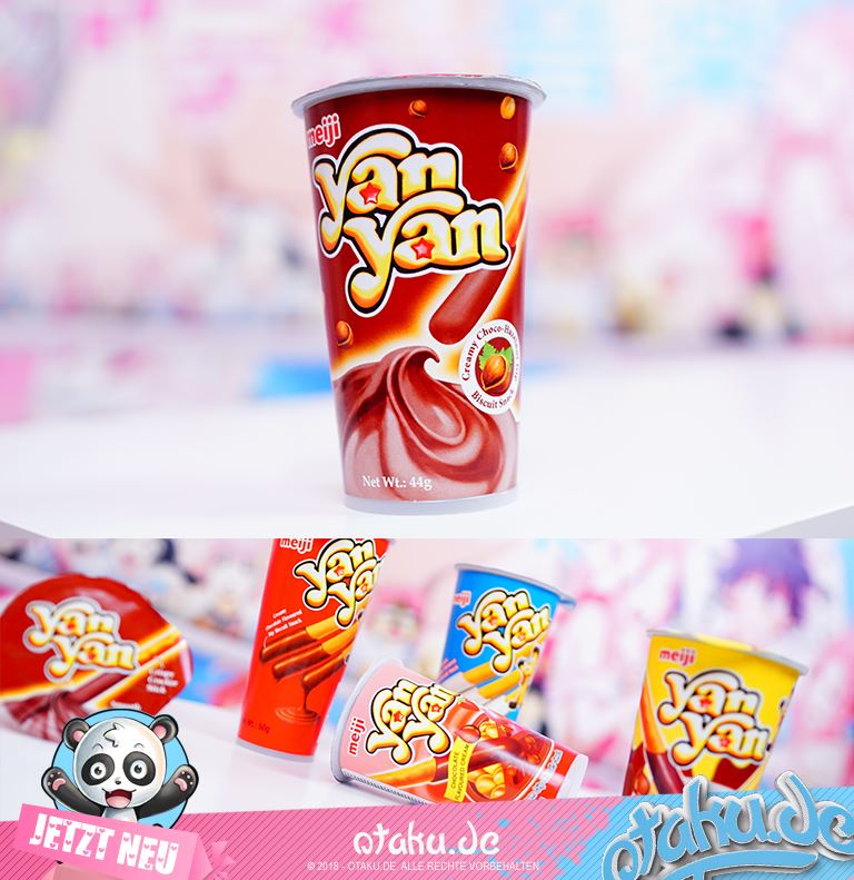Yan Yan Meiji Hazelnut Sticks