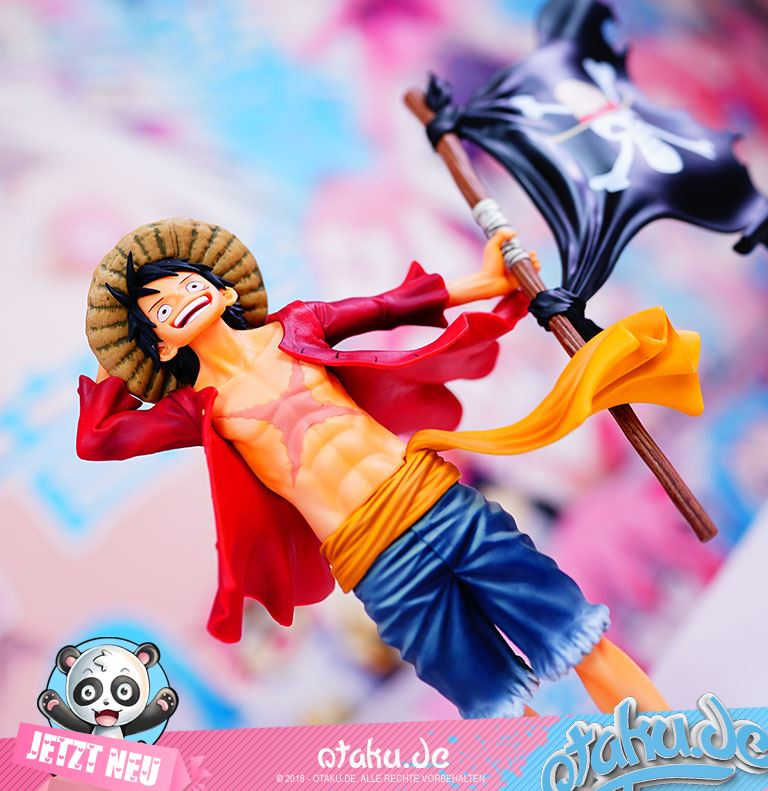 One Piece Ruffy Totenkopfflagge