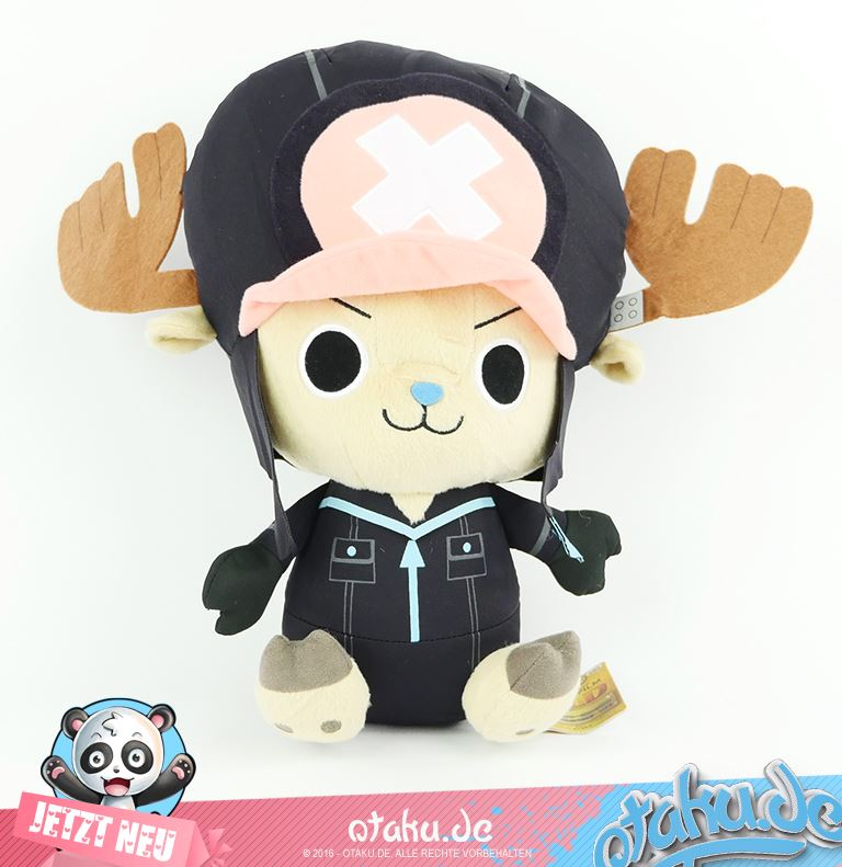 One Piece Chopper Plush in Schwarz -GOLD-