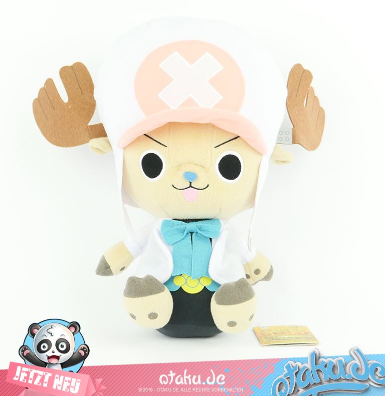 One Piece Chopper Plush in Weiss -Gold-