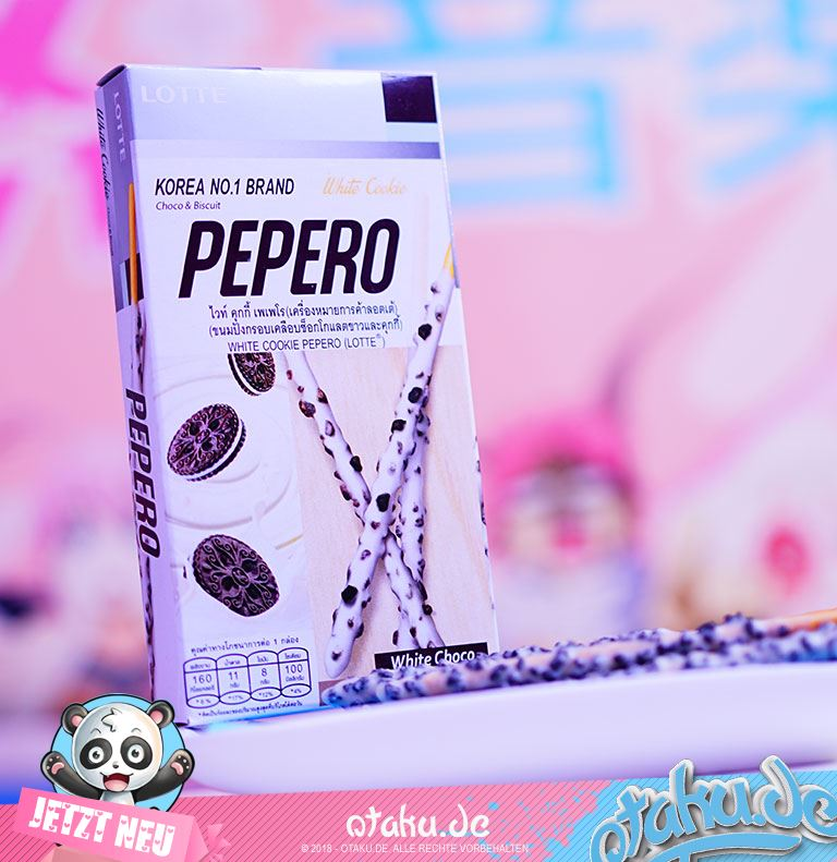 "Pepero ""White Cookie"" ca.32g"