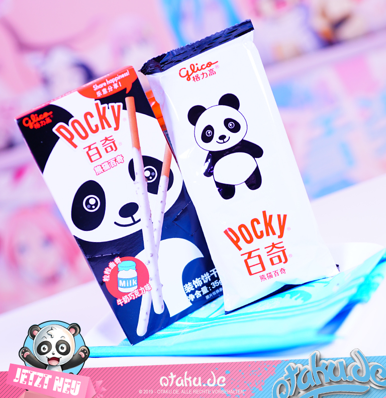 "Pocky ""Panda"" Cookie and Cream"