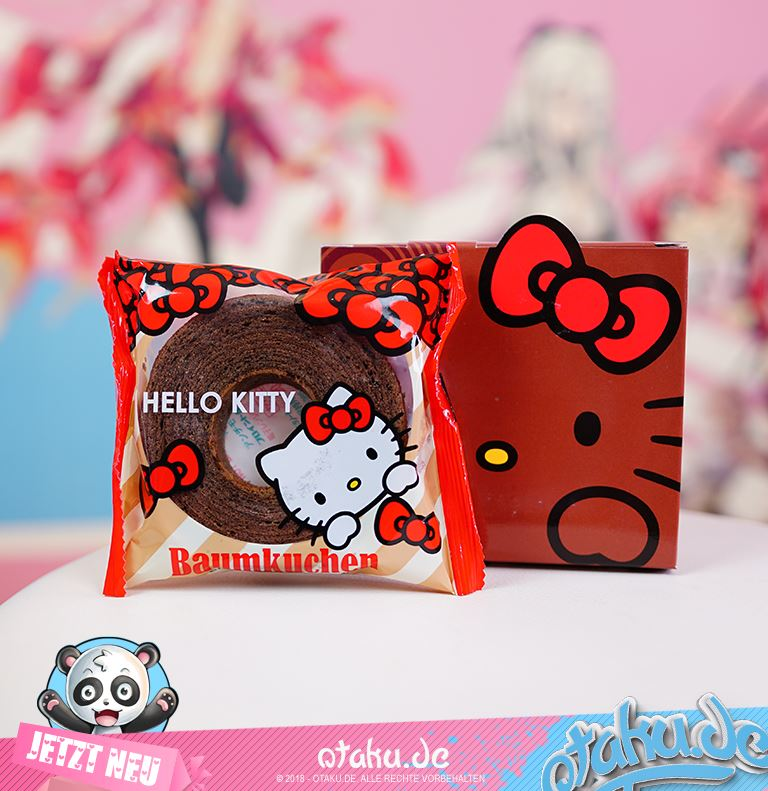 "Baumkuchen ""Hello Kitty vers."" Chocolate"