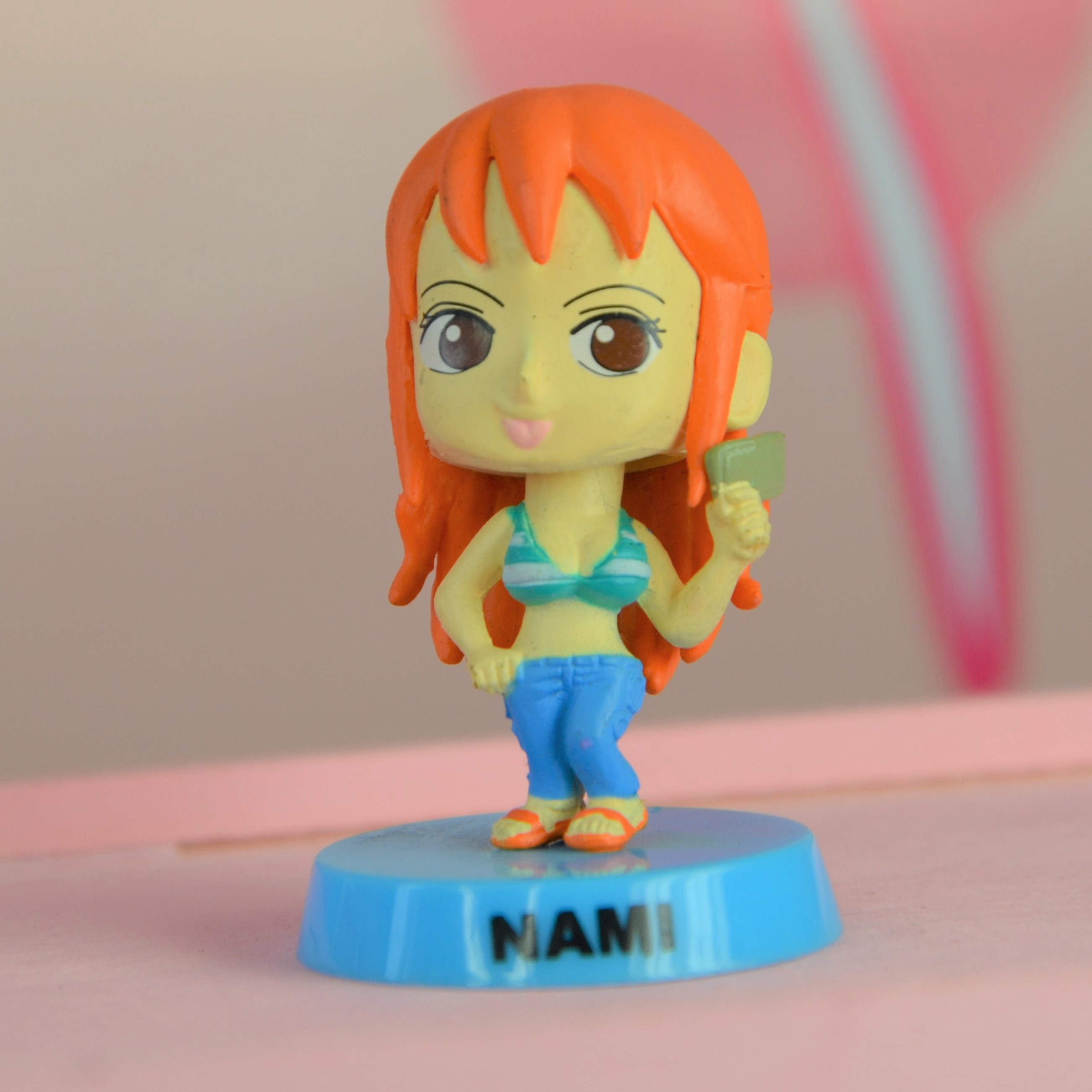 One Piece Nami Bobble Head Figure - Moving Head