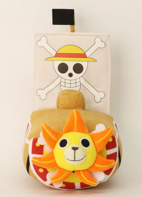 One Piece Plüsch von Thousand Sunny 25 cm
