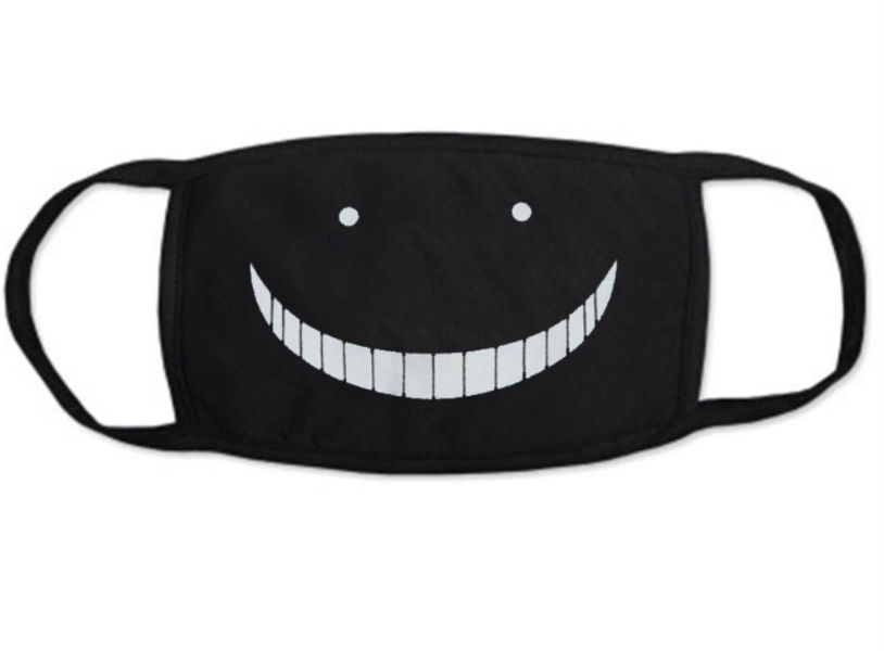 "Gesichtsmaske Motiv : ""Assassin Smile"""