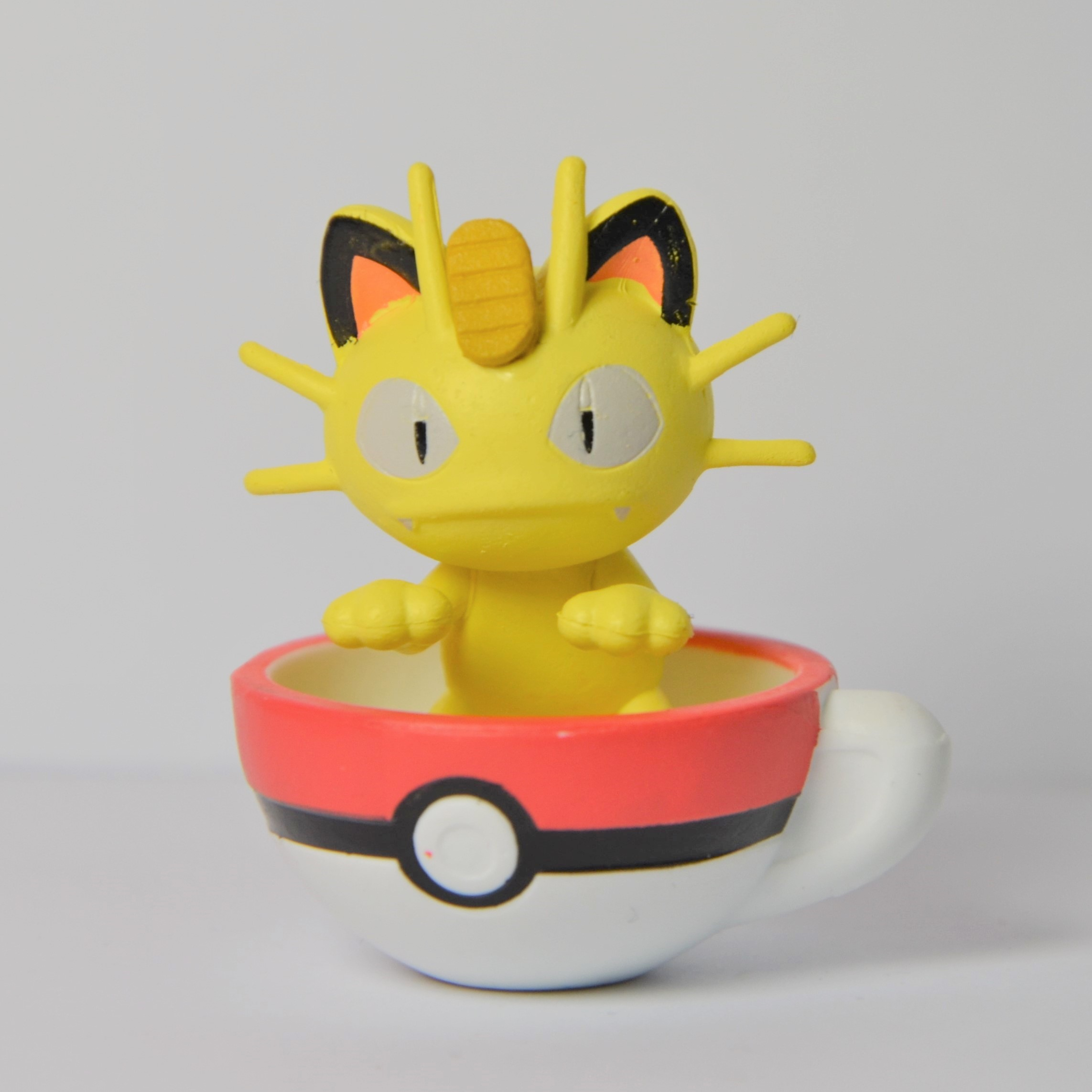 Pokemon Figuren Tasse - Mauzi / Meowth