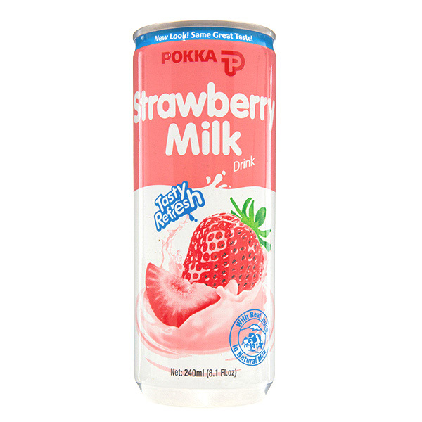 POKKA Strawberry Milk Drink