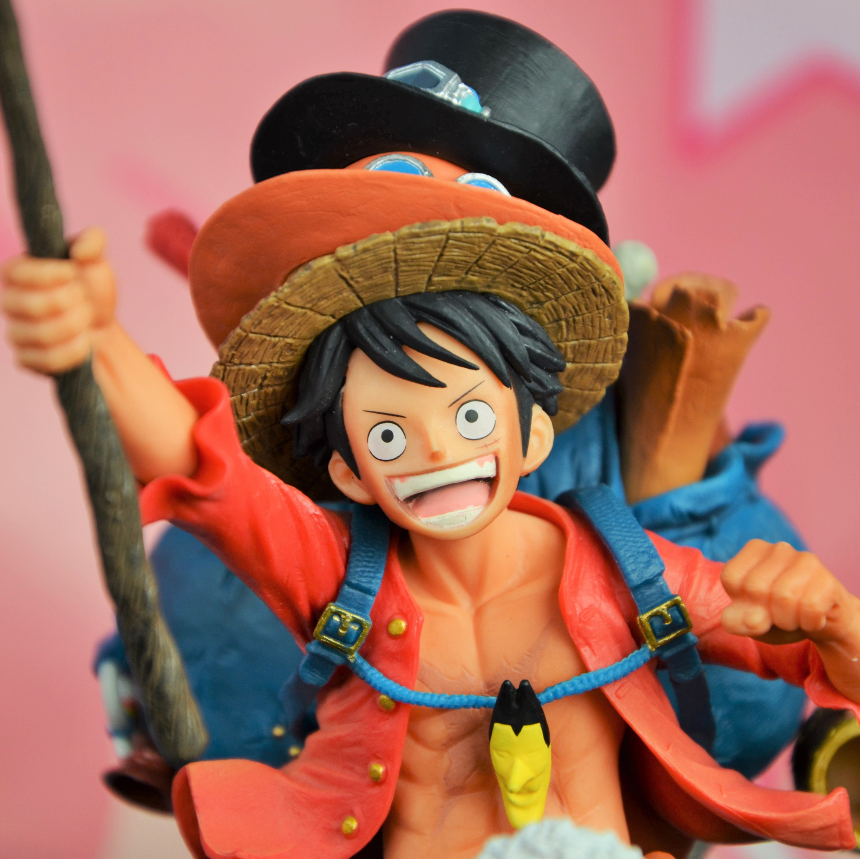One Piece Luffy Rubber - Trio Edition -