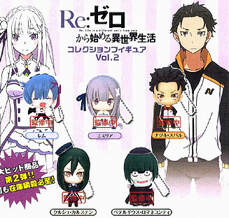 "Re Zero ""Gashapon Set"" Vol.  2"
