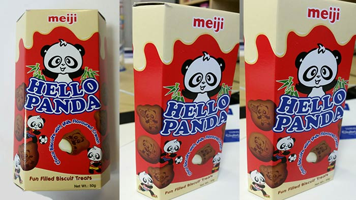 "Hello Panda ""Cocoa Biscuits with Milk Flavoured Filling"" ca. 50g"