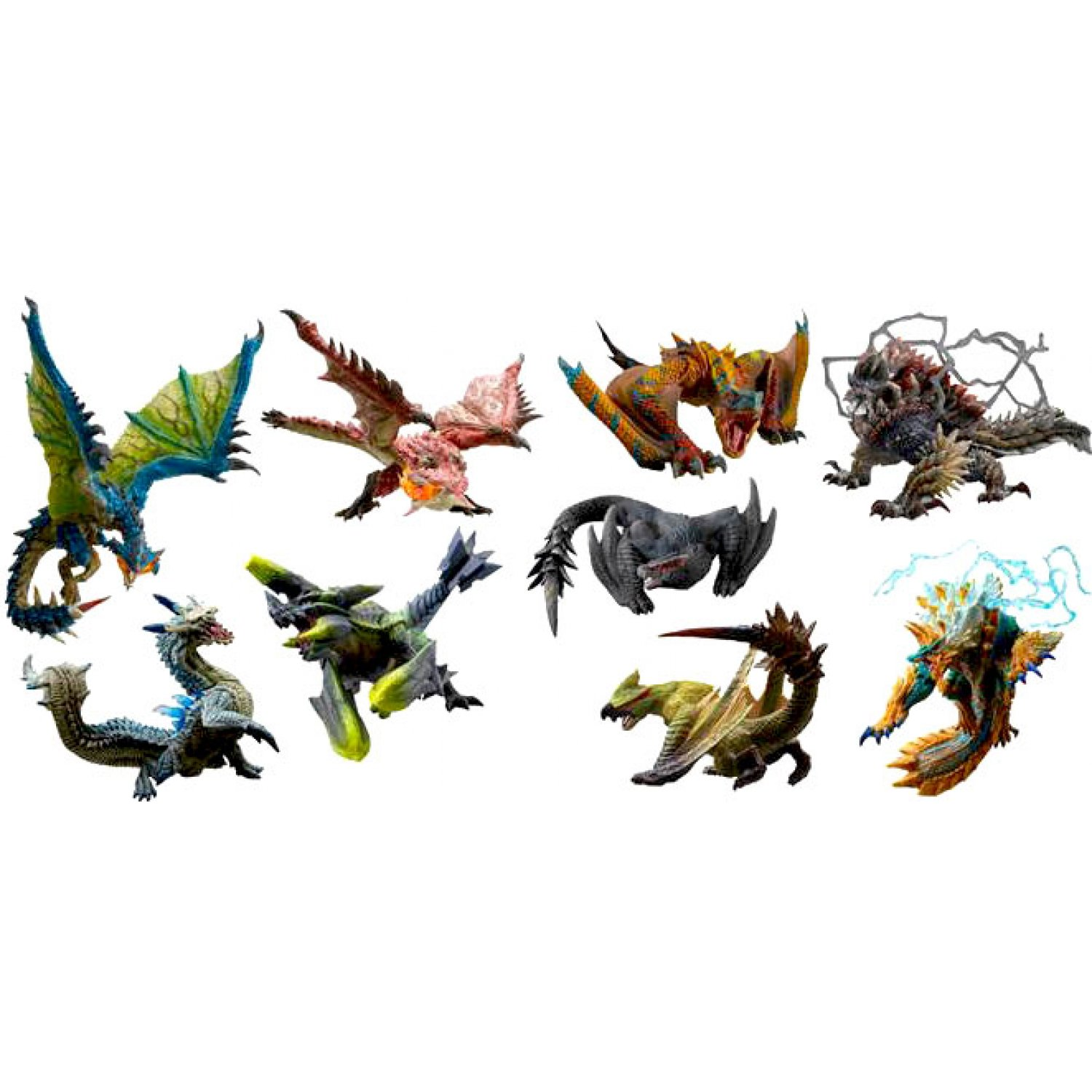 Capcom Figure Builder Standard Model Monster Hunter Anger Ver. Selection (Set of 9 pieces)