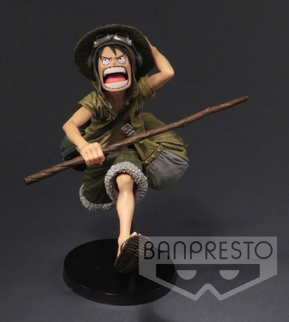 "One Piece ""Army  Color ver."" Ruffy ca. 17cm"