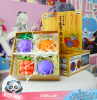 "One Piece Teufelsfrucht Set ""Ace, Ruffy, Buggy, Blackbeard"""