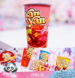 "Yan Yan ""Double Cream"" Chocolate+Strawberry ca. 44g"