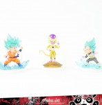 Dragonball Super Gashapon Set 3 - mit 3 Figuren -