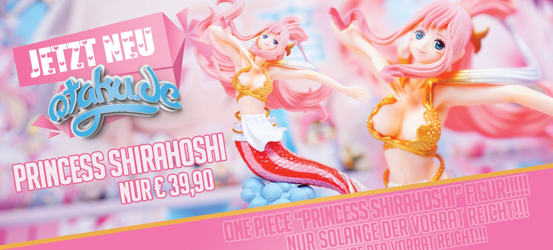One Piece Nami Princess Shirahoshi Figur