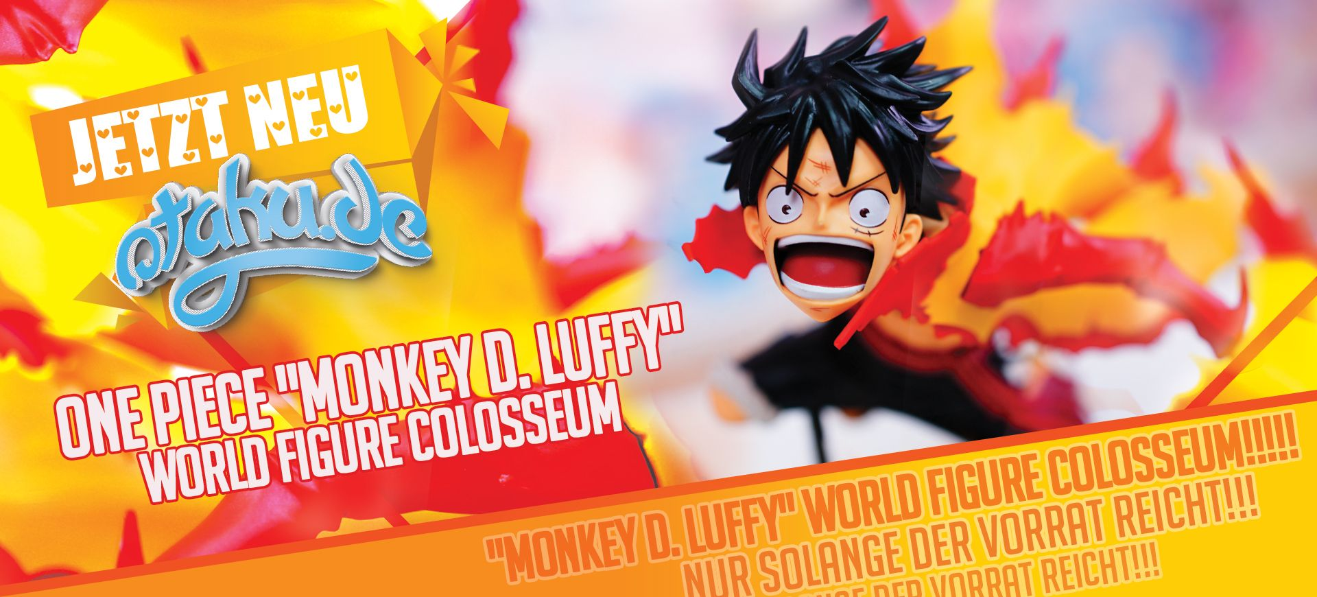 One Piece Monkey D. Luffy World Figure Colosseum Figur